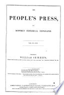 The People S Press And Monthly Historical Newspaper Book