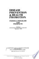 Disease Prevention   Health Promotion