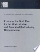 Review of the Draft Plan for the Modernization and Associated Restructuring Demonstration