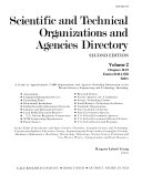 Scientific And Technical Organizations And Agencies Directory Book PDF