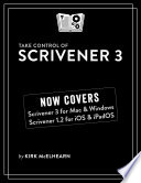 Take Control of Scrivener 3 Book PDF