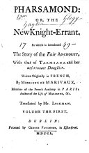 Pharsamond  or  the New knight errant     Translated by Mr  Lockman
