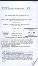 Hoh Indian Tribe Safe Homelands Act