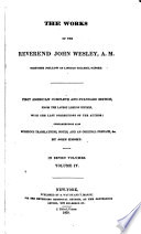 The Works Of The Reverend John Wesley A M