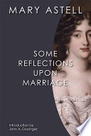 Some Reflections Upon Marriage