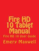 Fire HD 10 Tablet Manual