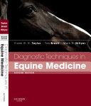 Diagnostic Techniques In Equine Medicine Book PDF