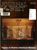 Journal of the West Book PDF
