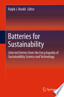 Batteries for Sustainability Book
