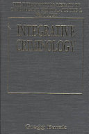 Integrative Criminology