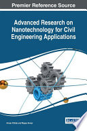 Advanced Research On Nanotechnology For Civil Engineering Applications Book PDF