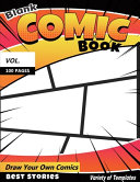 Blank Comic Book  Variety of Templates Book