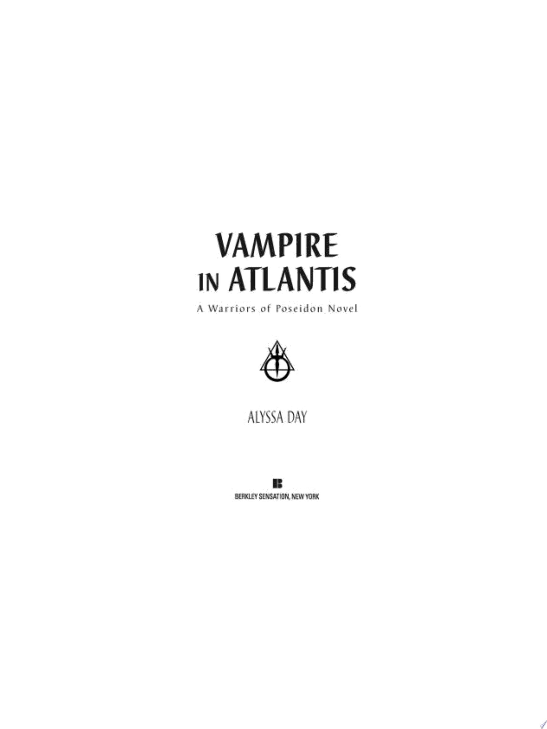 Vampire in Atlantis