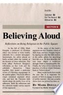 Believing Aloud Book PDF