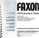 Faxon     Librarians  Guide
