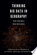 Thinking Big Data In Geography