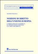 Nozioni di diritto dell'Unione europea. L'ordinamento giuridico, il sistema istituzionale, la carta dei diritti