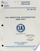 FAA Inspection Authorization Directory
