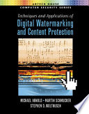 Techniques And Applications Of Digital Watermarking And Content Protection Book PDF