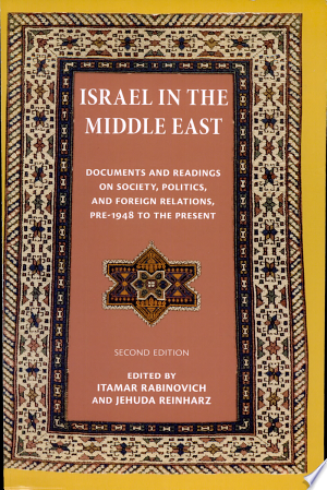 Free Download Israel in the Middle East PDF - Writers Club