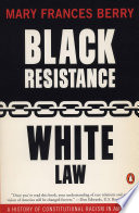Black Resistance White Law