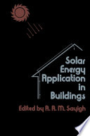 Solar Energy Application in Buildings