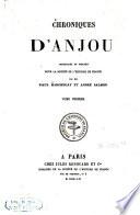 Chroniques des comtes d'Anjou
