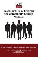 link to Teaching men of color in the community college : a guidebook in the TCC library catalog