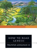 How to Read Genesis Pdf/ePub eBook