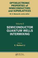 Semiconductor Quantum Well Intermixing
