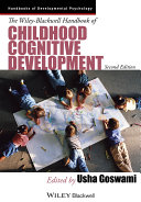 The Wiley-Blackwell Handbook of Childhood Cognitive Development ebook