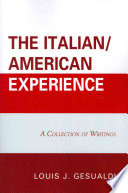 The Italian American Experience