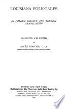 Louisiana Folk tales Book PDF