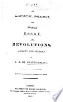an historical political and moral essay on revolutions ancient  an historical political and moral essay on revolutions ancient and modern