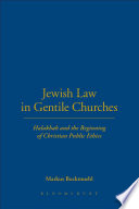 Jewish Law in Gentile Churches