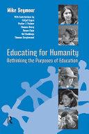Educating for Humanity Pdf/ePub eBook