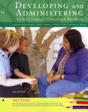 Cengage Advantage Books  Developing and Administering a Child Care and Education Program Book