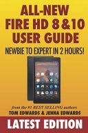 Pdf All-New Fire HD 8 & 10 User Guide