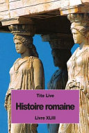 Histoire Romaine Livres A