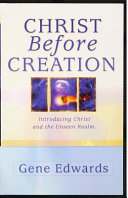 Christ Before Creation Book