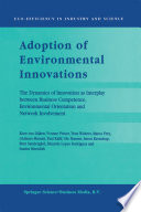 Adoption of Environmental Innovations