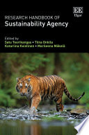 Research Handbook of Sustainability Agency