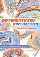 Supporting Differentiated Instruction Book