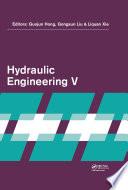 Hydraulic Engineering V