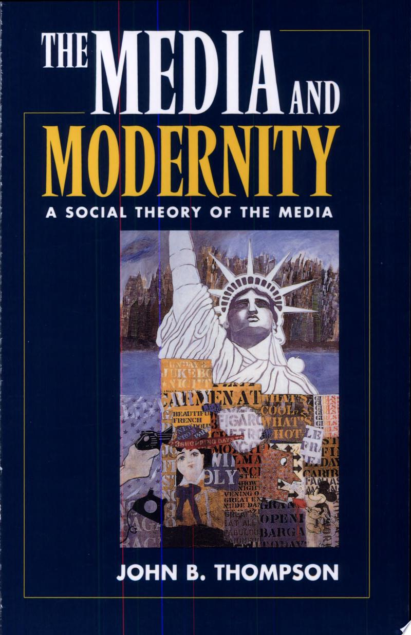 The Media and Modernity poster