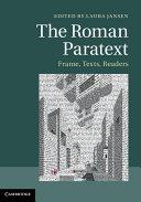 The Roman Paratext