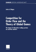 Competition for Order Flow and the Theory of Global Games