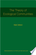 The Theory of Ecological Communities  MPB 57