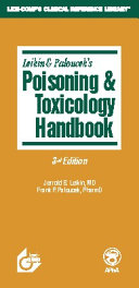 Poisoning Toxicology Handbook Book PDF