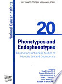 Phenotypes and Endophenotypes
